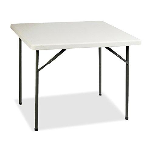 Lorell Banquet Folding Table, Platinum/Gray
