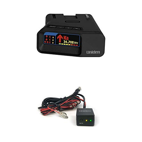 Learn More About Uniden R7 Extreme Long Range Laser/Radar Detecto & RDA-HDWKT Radar Detector Smart H...