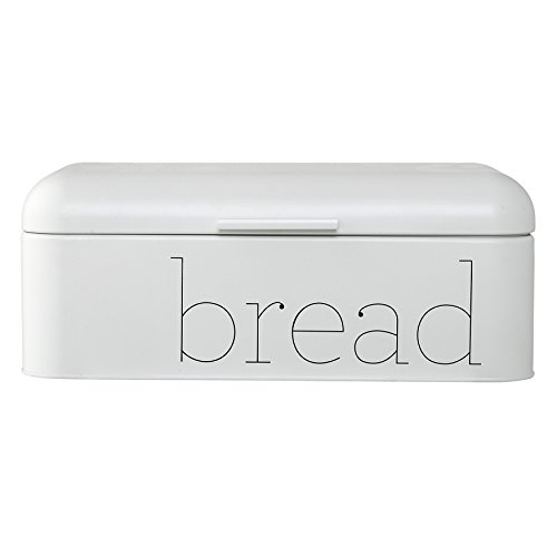 Bloomingville Metal Bread Bin, White