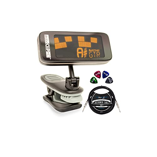 Peterson StroboCLIP HD Clip-On Strobe Tuner for Guitars, Bass, String Instruments...
