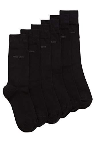 BOSS RS Uni SP CC Calcetines, Negro (Black 001), 43/46 (Pack de 3) para Hombre