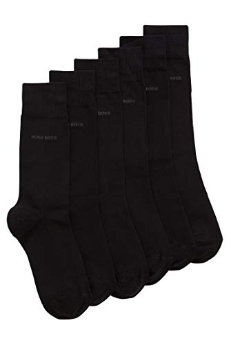 BOSS RS Uni SP CC Calcetines, Negro (Black 001), 43/46 (Pack de 3) para Hombre