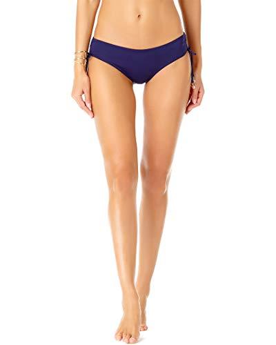 Anne Cole Signature Live in Color Side Tie Bikini Bottom, XL, Navy