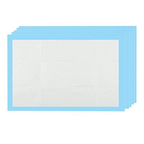 Sharplace Almohadillas de Cama para incontinencia superabsorbentes Desechables sábana de protección para cambiadores de bebés Cubre Las Almohadillas - 80x150cm