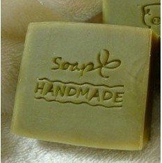 Handmade Soap Pattern Mini Diy Soap Stamp Chaprter Seal 4.83.8cm, 1piece.