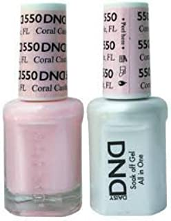 DND Gel & Matching Polish Set #550 - CORAL CASTLE, FL by DAISY by DND