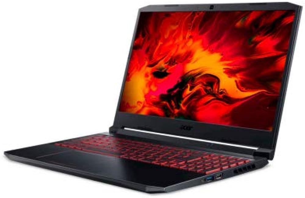 Acer nitro 5,computer portatile,amd ryzen 5 8 gb ddr4-sdram 512 gb ssd nvidia® geforce® gtx 1650 NH.Q9HEV.00B