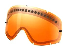 Oakley O Frame-Dual Vented Lentes de reemplazo para gafas de sol, Naranja, Talla Única Unisex Adulto