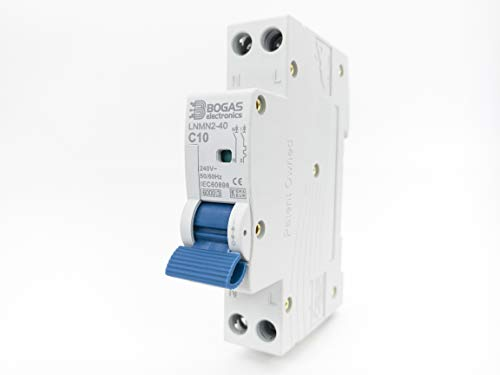 Interruptor Automático Magnetotérmico Terciario y Residencial Curva C DPN 6kA. (10 Amperios)
