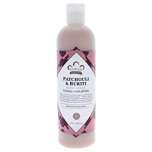 NUBIAN HERITAGE Patchouli/Buriti Body Wash