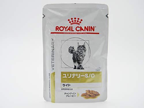 ロイヤルカナン キャットフード ユリナリーS/Oライトパウチ 85g×24個 (まとめ買い)
