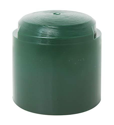 GAH-Alberts 211219 Einschlag-Werkzeug | für Rundholzpfosten | Kunststoff, grün | Innen-Ø 95mm | Gesamthöhe 90mm