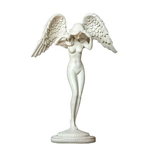 HGXC WY Karakter ornamenten mooie engel sculptuur woonkamer wijnkast decoratie beeld ambachten meubels kunst
