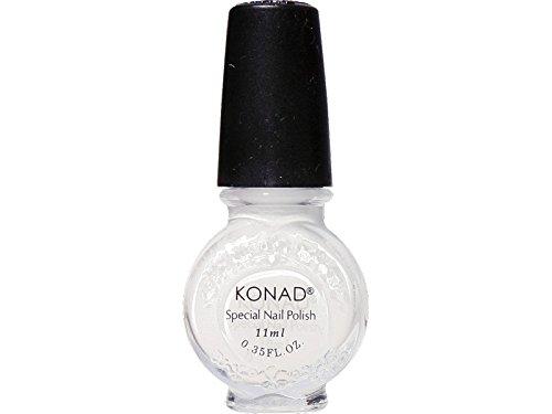 KONAD- Esmalte especial para estampar 11ml .WHITE