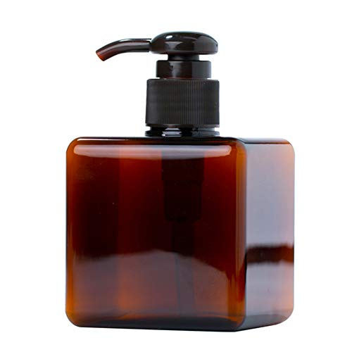 KaariFirefly Nachfüllbare Leere Flasche Tragbare Körperlotion Shampoo Creme Press Pump Travel Travel Flüssiges Öl Parfümbehälter Spender Braun