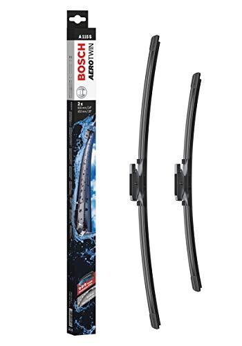 Bosch Aerotwin Escobilla limpiaparabrisas A115S, Longitud: 600 mm 450 mm – 1 juego para el parabrisas (frontal)