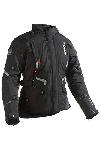 Dane RAGNAR LADY GORE-TEX Motorradjacke Damen Farbe schwarz/grau, Größe 40
