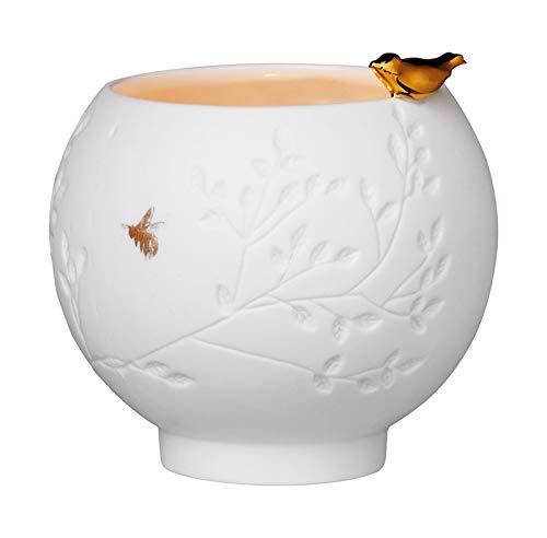 Räder Porzellangeschichten Teelicht Vogel