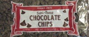 Trader Joe's Semi-Sweet Chocolate Chips 12 oz. bag