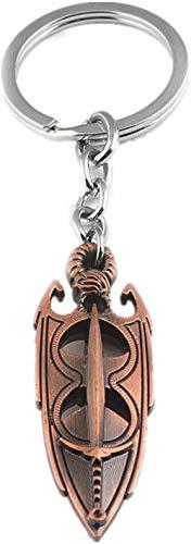 JIUJIN Halskette The Elder Scrolls 5 Skyrim Amulett Von Akatosh Anhänger Seilkette Halskette & Schlüsselbund-Schlüsselbund