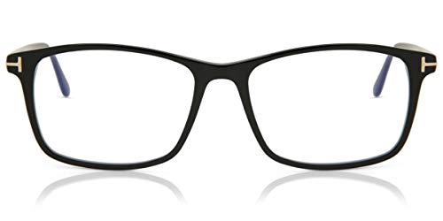 Tom Ford Brille (TF-5584 001) Acetate Kunststoff schwarz glänzend