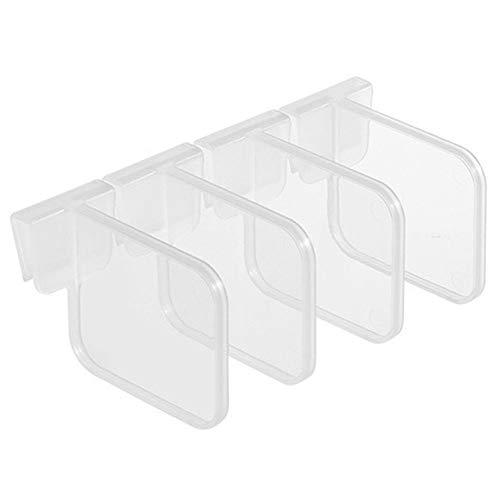 Fuyamp Cucina frigorifero a scatto mensola frigo divisorio per bottiglie e lattine, separazione e smistamento partizioni (TP)