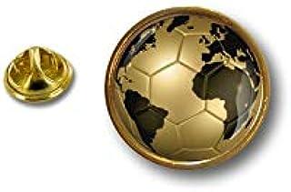 Spilla Pin pin's Spille spilletta Giacca Bandiera Badge Pallone Calcio Gold
