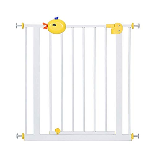 Buy Discount Huo Baby Safety Gates Adjustable Stairs Banisters & Doorway, Extra-Wide 75-194 cm, Pres...