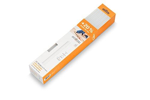 Steinel Klebesticks ULTRA Power Ø 11 mm, 20% mehr Inhalt gratis, extrem starker Kleber: 0.6 kg, 20 Sticks, 300 mm Länge