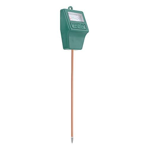 Duokon Medidor de Sensor de Humedad del Suelo, higrómetro portátil, probador de Humedad, Planta de sonda para Patio, Granja, jardín, Plantas de césped para Interiores y Exteriores
