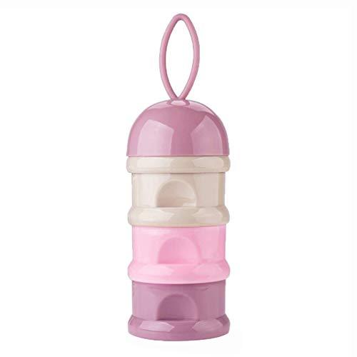 Milchpulver Portionierer Frischhaltedose Essen Behälter Flasche Tragbare 3 Schichten Formula Behälter Luftdichte kein Pulver Leckage