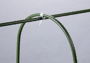 【野菜づくりに適した、簡易雨よけ・ネット栽培用支柱】セキスイ 菜園アーチ支柱 #700 16H-2.1