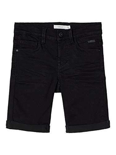 NAME IT Boy Shorts Slim Fit Viskosemix 134Black Denim