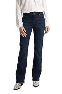 ESPRIT Damen 999Ee1B812 Jeans, Blau (Blue Dark WASH 901), W32/L32 (Herstellergröße:32/32)