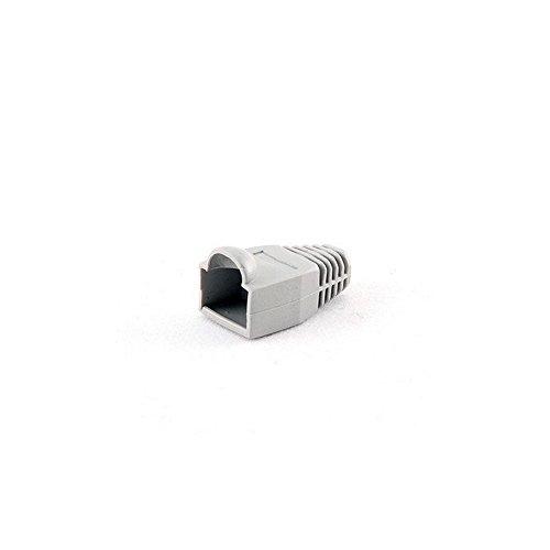 iggual PSIBT5GY/5 - Cable Conector RJ45 plástico (10 Unidades), Color Gris