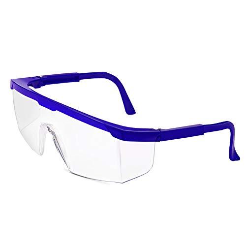 Gafas de protección profesional de ADORIC, gafas de protección para el trabajo contra salpicaduras y spucks, ideales para construcción, talleres, jardín y deportes, 5 unidades
