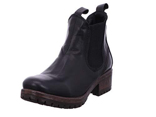 Lazamani Damen Stiefeletten Chelsea Boot 68.001 68.001 schwarz 601342