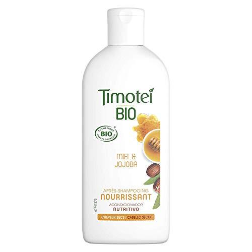 Timotei Bio Acondicionador Nutritivo Para Cabello Seco, pack de 4 x 250 ml (Total: 1000 ml)