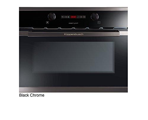 Küppersbusch Einbau-Dampfgarer EDG6260.0, Design:schwarz + Black Chrome