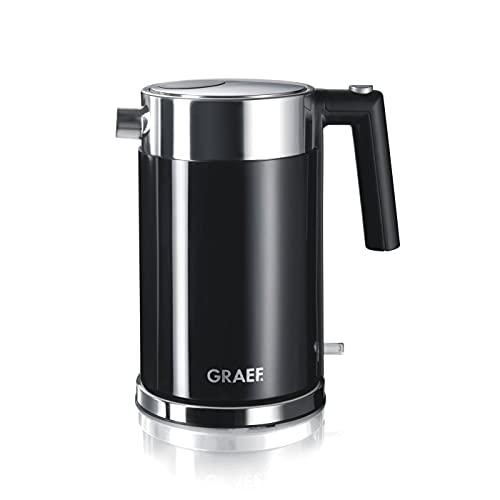 Graef WK62 - Hervidor de agua eléctrico (acrílico), color negro