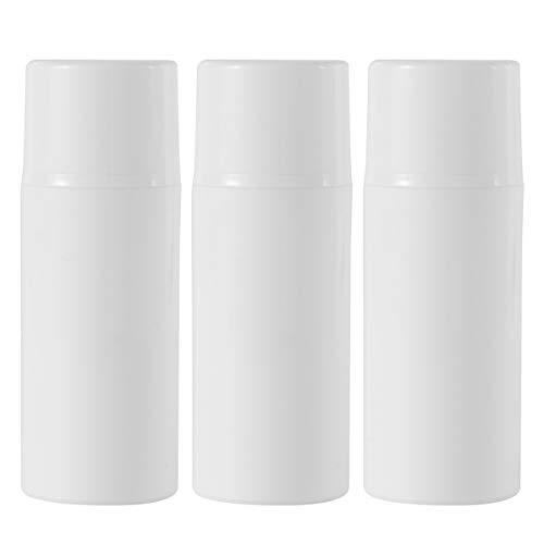 Yarnow 6 Pcs Rechargeable En Plastique Pompe Bouteilles Lotion Distributeur Conteneur Pour La Distribution De Lotions Shampooings Gel Shampooing (80 Ml)