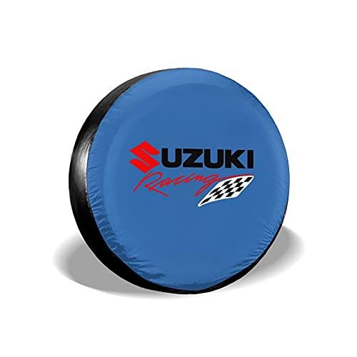 'N/A' Su-zu-ki - Cubierta de repuesto universal para llantas de repuesto para remolque, Rv, SUV y muchos vehículos