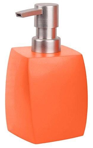 Seifenspender Wave Orange | ein Blickfang für jedes Badezimmer | modernes Design | stabile Qualität