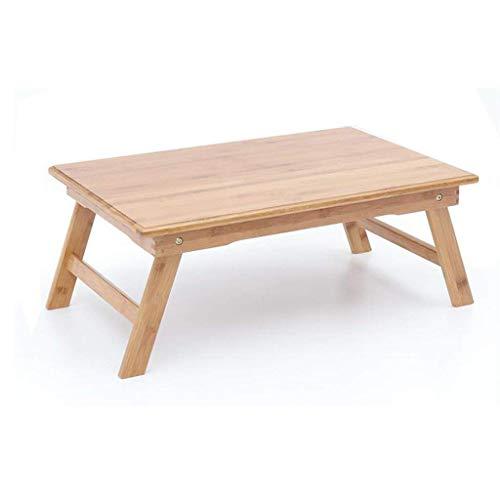 HYY-YY Computertisch Laptop-Tisch, Bambus-Klappschreibtisch aus Holz, niedriger Tisch, für Zuhause