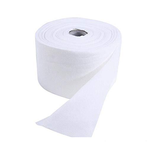 Supersoft, 【9m × 13cm】Weiches Waschtuch Premium, extra weiche Pflegetücher, Putzlappen aus Baumwolle Putztücher, für die Pflege von Patienten, Einweg Baumwollhandtuch für Reisen, Camping, Angeln
