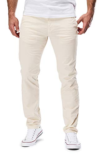 MERISH Chino Hosen Herren Slim Fit Jogger Hose Stretch Neu 401 (32-32, 401 Beige)