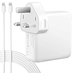 ✅ [87W USB-C Fast Charging] -- 87W USB-C Power Adapter Charger provides a fast, stable, portable and durable charging. You can use this adapter instead of the 87W 61W 30W adapter (Input: AC 100-240V, 1.5A, 50-60Hz; Output: PD 20.4V / 4.3A; 20.3V / 3....