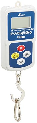 シンワ測定(Shinwa Sokutei) デジタル手秤 20kg 70109