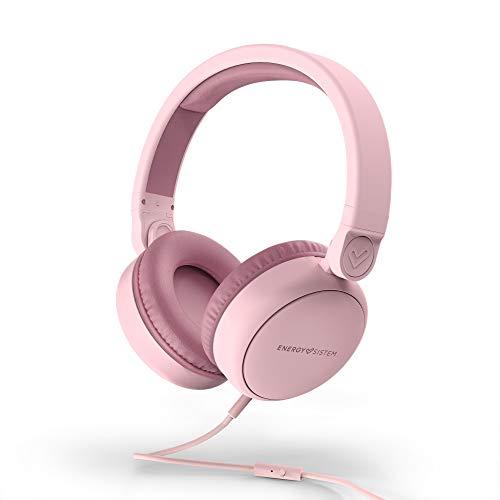 Energy sistem Headphones Style 1 Talk Pure Pink (Over-Ear, 180º Foldable, Detachable...