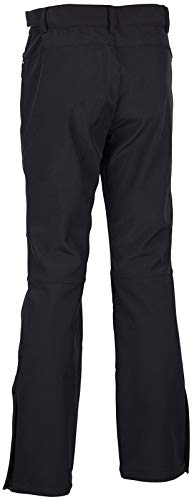 Starling Softshell skibroek heren wintersport broek zwart